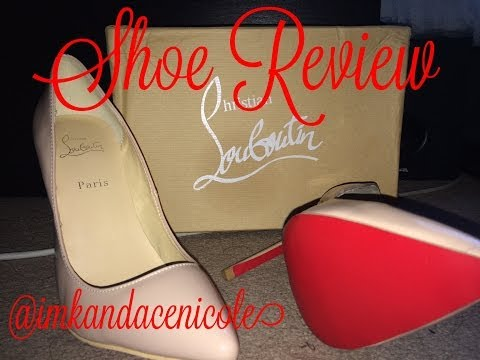 .:Shoe Review:. Christian Louboutin - Pigalle 100