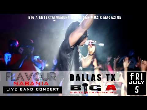 Flavour N'abania Performs Ada Ada In Dallas Tx video