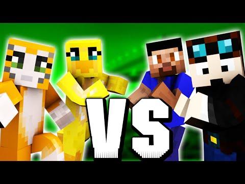 Minecraft BUILD BATTLE #4 TheDiamondMinecart & Vikkstar vs Stampylonghead & Sqaishey @ Minecon 2015