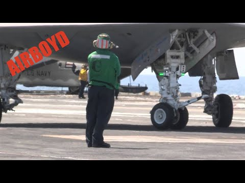 X-47B First Aircraft Carrier Launch
