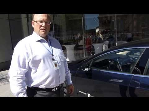 Panasonic's Company Car: A Tesla Model S