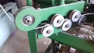 Изготовление сетки рабицы, идея для бизнеса в гараже