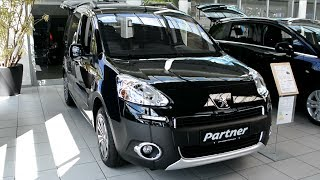 2014 New Peugeot Partner Tepee Exterieur and Interior