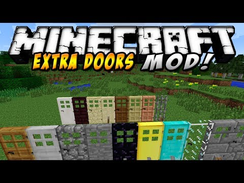 Minecraft - Extra Doors MOD (Puertas de todos los colores y sabores!) - ESPAÑOL TUTORIAL