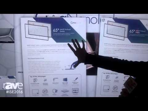 ISE 2016: Cima NanoTech Showcases Projected Capacitive SANTE ProTouch Module