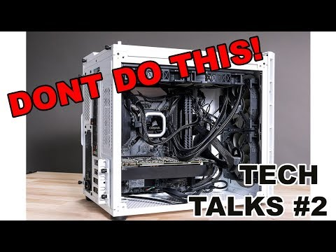 "Tech Talks #2 - HOW TO NOT BUILD A COMPUTER WITH ""THE VERGE""!"