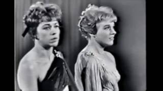 """A Boy Like That"" - Julie Andrews & Carol Burnett at Carnegie Hall"
