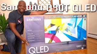 The 1st QLED TV of 2020   Samsung Q80T 4K HDR TV Unboxing & Initial Setup + Demo [4K HDR]