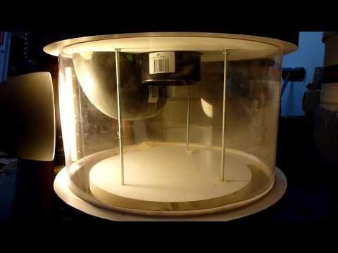 Thien Dust Separator - tablesaw test