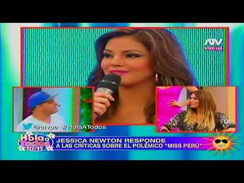 HOLA A TODOS 10/03/16 JESSICA NEWTON PRESENTO A SUS CANDIDATAS Y DEFIENDE DE LAS CRITICAS A MILETT
