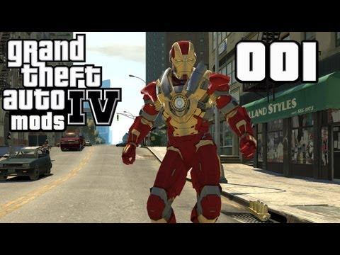 Let's Mod GTA IV #001 - Iron Man