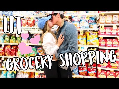 Cover Lagu LIT GROCERY SHOPPING ADVENTURES! VLOGMAS DAY 5!