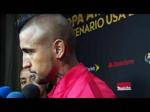 Chile 4-2 Panama Post-game Arturo Vidal