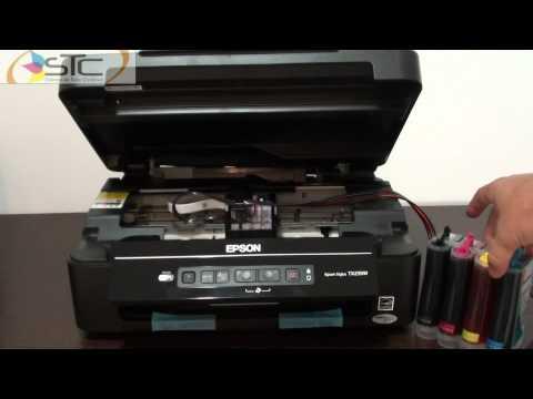 Sistema de Tinta Continua Epson TX235W Chip 138 STC