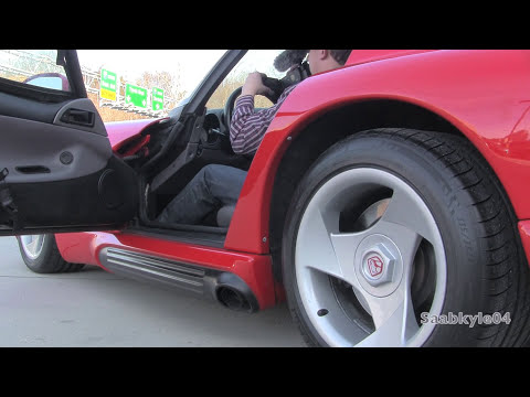 1993 Dodge Viper RT/10 Roadster Start Up, Exhaust, and In Depth Review