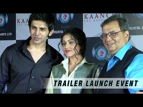 Kaanchi - Trailer Launch Event - Subhash Ghai, Mishti, Kartik Aaryan