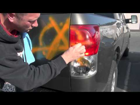 getting road paint off your car auto detailing made easier how to. Black Bedroom Furniture Sets. Home Design Ideas