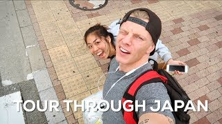 TRAVELING FROM NORTH TO SOUTH JAPAN - Bas Hollander - Vlog 145