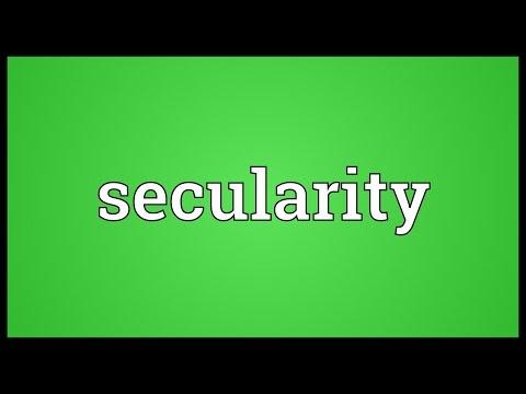 Header of secularity