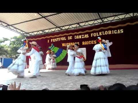 EL PALITO VERDE - DANZA FOLKLORICA (honduras potrerillos, cortes)