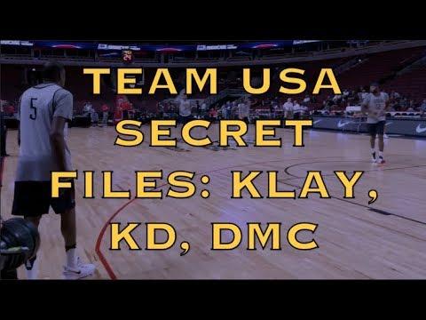 Team USA 2016 secret footage (1of10): Klay heats up, runs plays w/ Durant & DeMarcus Cousins + MORE