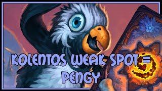 Hearthstone: Kolentos weak spot = pengy (midrange shaman)