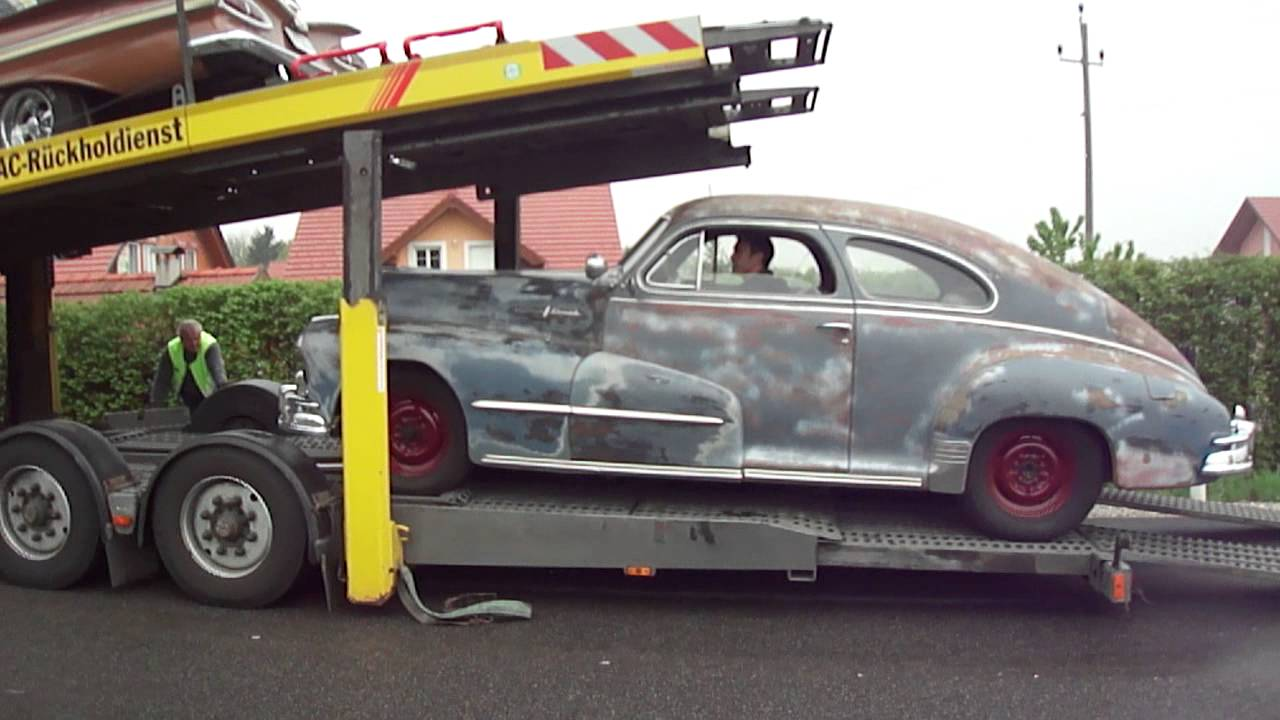 1948 Pontiac Silver Streak 8 Roll Off Youtube