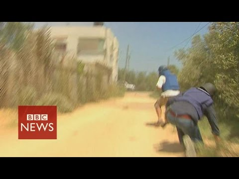 Under fire in Gaza as Hamas ceasefire stalls - BBC News klip izle