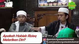 Abdul Somad blak blakan : Apakah Habieb Rizieq Melarikan Diri?