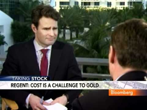 Regent Says Barrick Won't Hedge Gold Prices, Production