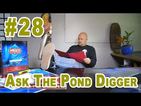 Aquaponics. Pond Filter Media & Pond Clean Out - Ask T.P.D. Show 28