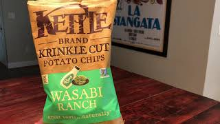 Kettle Brand Wasabi Ranch Potato Chips Review