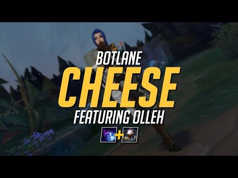CHEESIEST BOTLANE STRATEGY EVER (Olleh + Doublelift)