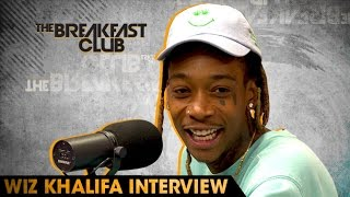 Wiz Khalifa Interview With The Breakfast Club (6-24-16)