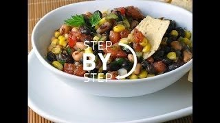 Tennessee Caviar, Cowboy Caviar Recipe, Texas Caviar Recipe, Three Bean Dip Recipe