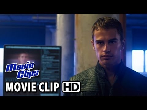 DIVERGENT Movie Clip - Divergents threaten the system (2014) HD