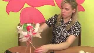 Мастер-класс по изготовлению букета из игрушек