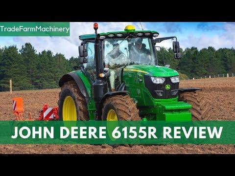 John Deere 6155R tractor test review | Farms & Farm Machinery
