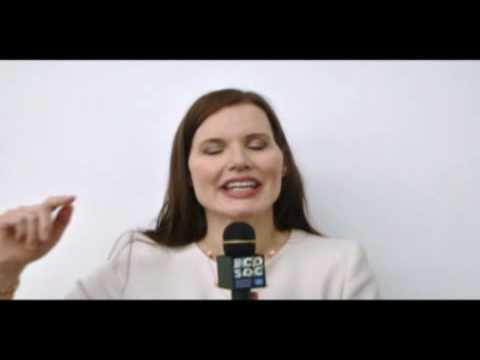 Geena Davis: We need to improve the status of women around the world