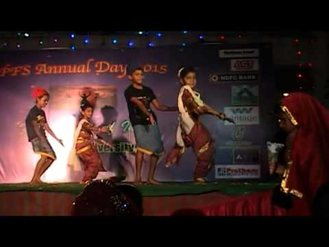 Advithas Marathi Dance- Mi Hai Koli video