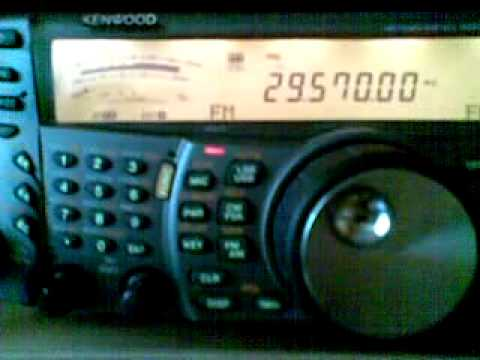 QSO on F5ZTW 10 m repeater - F1GHX & S56CT