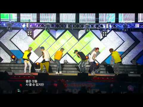 Teen Top - Be Ma Girl, 틴탑 - 나랑 사귈래, Music Core 20120818 video