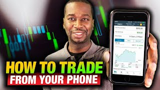 How to trade stocks and options from your smart phone  Schwab Street Smart Central Mobile App