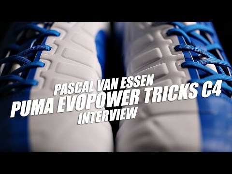 PUMA evoPOWER Tricks C4 interview w/Pascal van Essen