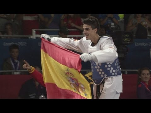 Joel Gonzalez Bonilla (esp) Wins Taekwondo -58kg Gold - London 2012 Olympics video