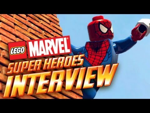 LEGO Marvel SuperHeroes Interview! First gameplay revealed! Details on Open-World, Roster & More