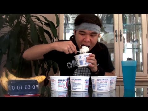 3.75lbs (1.7kg) of Cottage Cheese in 60 Seconds (Episode #7)