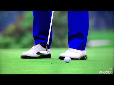 Graeme McDowell - Putter Impact Extreme Slow Motion (12-7-2014)