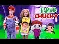 Familia CHUCKY Bebé Le Tiene Miedo A Su NUEVO Hermanito Juguetes Fantásticos mp3