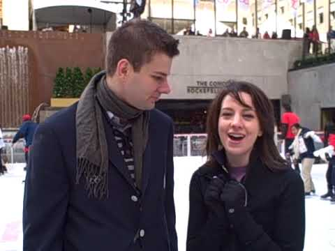 Tim Morehouse interviews Olympic Gold Medalist Sarah Hughes at 100 Days to Vancouver Video